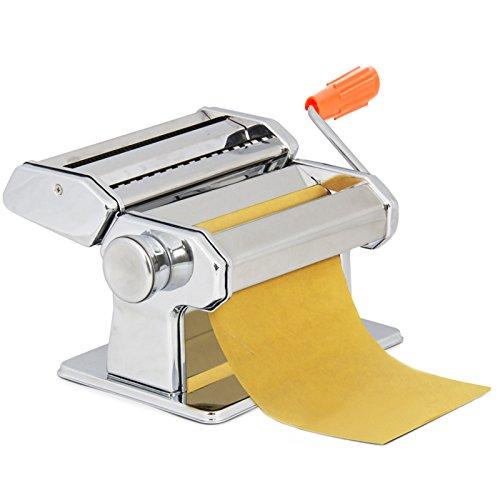 Flabor Nudelmaschine Abnehmbare Schmale & Breite Bandnudeln Pastamaschine, 20 x 13 x 12 cm