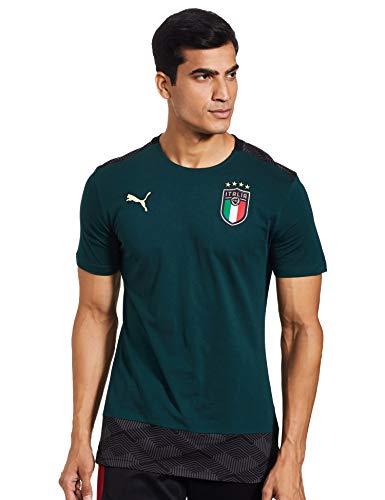 PUMA Tshirt FIGC Verde 20/22 Italia Verde