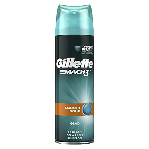 Gillette MACH3 Rasiergel gründlich und geschmeidig (200 ml)
