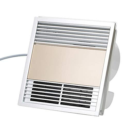DYXYH Hogar Cambios en la Temperatura del Calentador Ventilador WC Impermeable Viento Calentadores Eléctricos Individual integración de Calor Techo