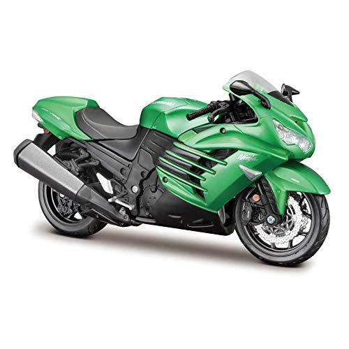 Tobar M39197 1:12 AL-Motorräder Kawasaki Ninja ZX-14R, Mehrfarbig