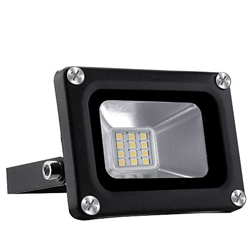 12V Focos LED Exterior Proyector 10W 800lm Floodlight Impermeable...
