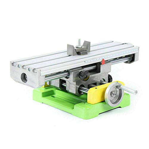 Multifunction Worktable Milling Working Table Milling Machine Compound Drilling Slide Table For Bench Drill Cross Slide Bench Drill Vise Fixture XY Axis