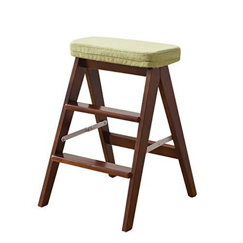 LLTD Klapkruk keukenkruk Stephocker familieklapkruk massief houten kruk volwassenen multifunctionele hoge stoel klapstoel
