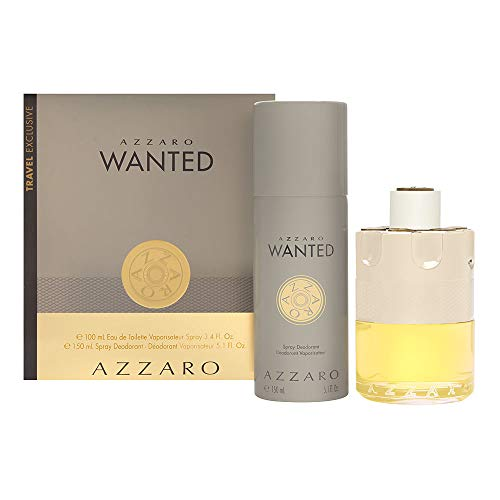 AZZARO WANTED Eau de Toilette edt 100ml. & AZZARO WANTED DEODORANT Spray 150ml.
