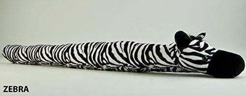 Casatessile Tiere Tür Weatherstrip 100 cm. - Dis. Zebra