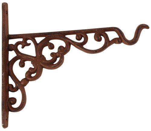 Esschert BPH28 - Gancho y Colgador para macetas, Color marrón