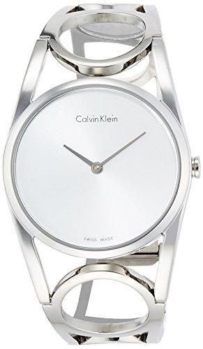 Calvin Klein Orologio Digitale Quarzo da Donna con Cinturino in Acciaio Inox K5U2M146