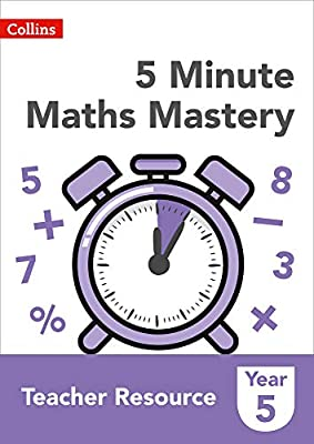 Collins KS2 Revision and Practice ? 5 Minute Maths Mastery Book 5 by Collins