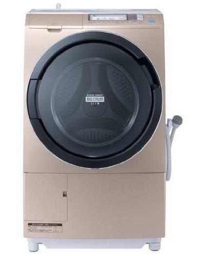 日立 9.0kg ドラム式洗濯乾燥機【左開き】 シャンパンHITACHI ビッグドラムスリム ヒートリサイクル 風アイ...