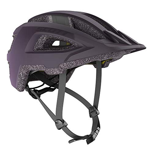 Scott Groove Plus 2021 - Casco para bicicleta, talla M/L, 57-62 cm, color lila