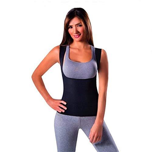 Faja reductora para perder peso Deportes Yoga Gimnasio Shapewear Corsé Ultra Sudor...