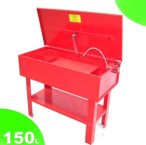 TEILEWASCHGERÄT 150 L mit Pumpe + Waschpinsel Bürste Waschgerät Waschmaschine AWZ