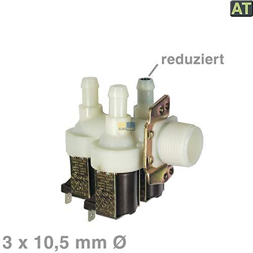 LUTH Premium Profi Parts Magnetventil 3-Fach 90° Miele 1678013 Waschmaschine Waschtrockner