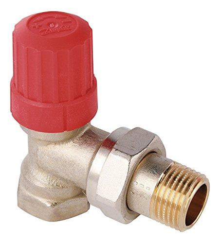 Danfoss 27187 5 Thermostatventil-Unterteil, 1/2 Zoll Eckform