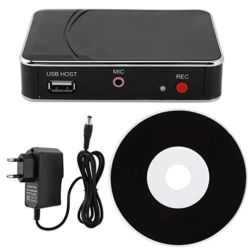 minifinker Tarjeta de Captura Tarjeta de adquisición de Video Disipación de Calor Grabación con un Clic, para grabadora de Video HDMI