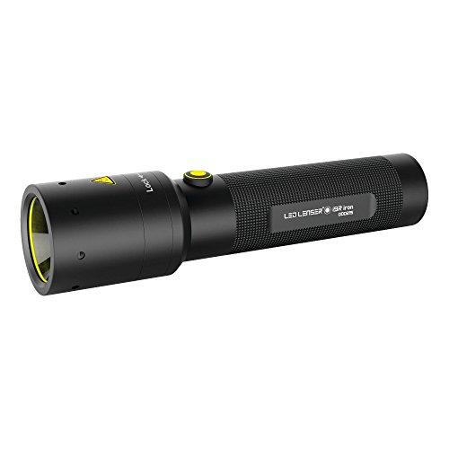 LED Lenser - i9R Iron Industrial Rechargeable Flashlight, Black