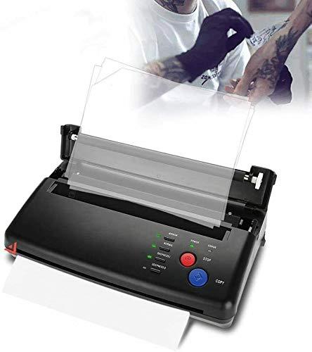 Tattoo Transfer Machine - Professionelle Zeichnung Thermoschablonen-Kopierer Tattoo-Drucker zum Drucken von Tattoo Transfer Druckpapier und Thermopapier