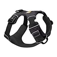 Lightweight and durable Ruffwear dog harness made for all-day outdoor adventures and designed for easy attachment and removal. Suitable for Medium dogs (27-32 in/69-81 cm) With 2 lead attachment points and reinforced webbing at chest to resist pullin...