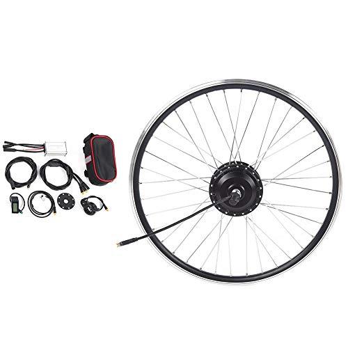 VGEBY Kit eléctrico de conversión de Bicicleta Kit eléctrico de conversión de Bicicleta de montaña Impermeable de 26 '' 48V/250W(Tracción Trasera)