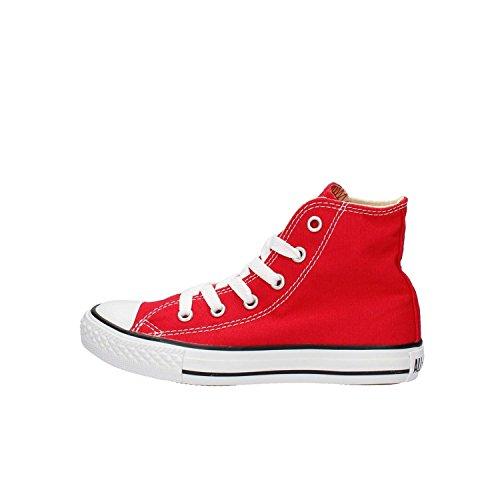 Converse Chucks Bambini 3J232C AS Hi Can Rosso Rosso, Taglia:29