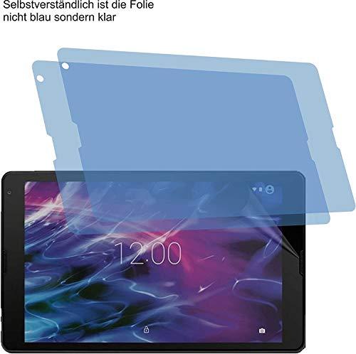 4ProTec I 2X Schutzfolie MATT passexakt für Medion Lifetab E10430 - Displayschutzfolie Schutzhülle