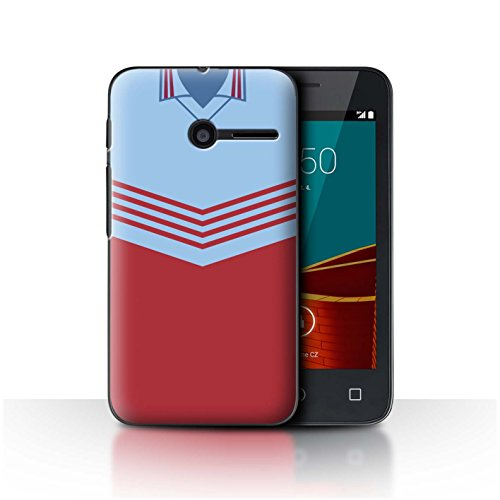 Telefoonhoesje/Cover/Skin/VD-CC/Retro Voetbal/Kit Divisie 1 Collectie Vodafone Smart First 6 West Ham 1976