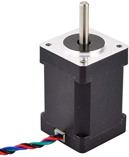 Printer Accessories High Torque Nema 14 Stepper Motor 40Ncm(56.7oz.in) 1.5A 35x35x52mm Nema14 Stepper 4-Lead for CNC DIY 3D Printer 3D Printing Accessories