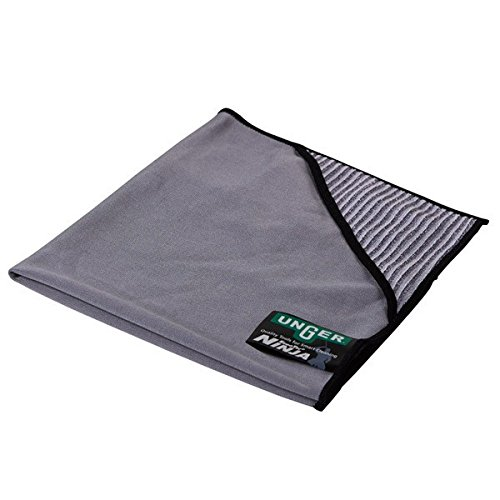 Unger Ergo Tec Ninja Micro Wipe, 40 cm x 40 cm, grau, 1