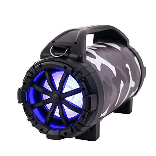 Blackmore BTU-5001-U Pro Audio Rechargeable Speaker With Bluetooth/FM/USB/TF/Mic-In, Urban Camo