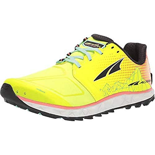 ALTRA Women's Superior 4 Trail Running Shoe, Neon/Coral - 10 M US