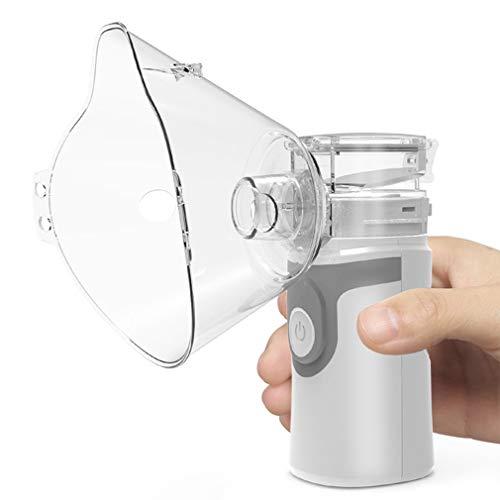 Tragbarer Inhalator Vernebler Mini Ultraschall Vernebler Ultraschall-Verdampfer Für Kinder Erwachsene, Kühle Nebelmaschine Für Reisen Und Den Täglichen Gebrauch Zu Hause