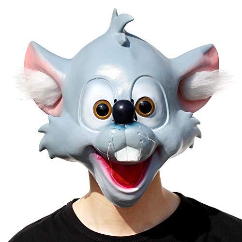 PartyHop - Niedliche Cartoon Maus Latex Maske