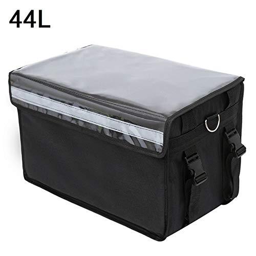 Chirs Offer 44L extra große Kühltasche Auto-Eisbeutel Isolierte Thermo-Lunch-Pizza-Tasche Frischwaren-Lieferbehälter Kühlschrank-Tasche