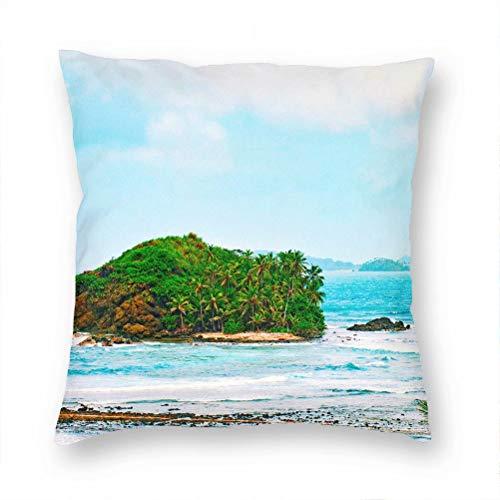 Panama Pillow Case Decorative Cushion Cover Pillowcase Sofa Chair Bed Car Living Room Bedroom Office 18'x 18' KXR-4574