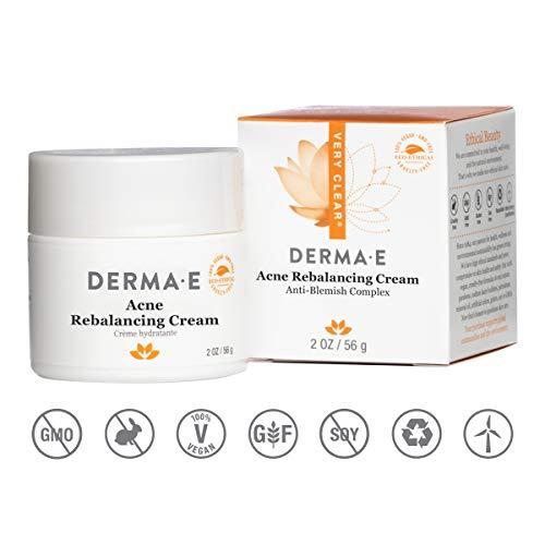 DERMA-E, Acne Rebalancing Cream Prevents Blemishes oz, 2 Ounce