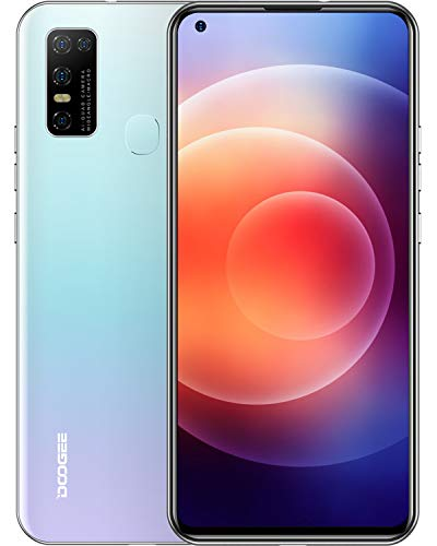 DOOGEE N30 Movil Libre, Pantalla de 6.55' DotDisplay, 4 GB+128 GB, 4G Smartphone Cámara Cuádruple de 16 MP, 8MP Frontal...