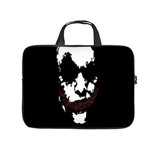 Universal Laptop Computer Tablet,Bag,Cover for,Apple/MacBook/HP/Acer/Asus/Dell/Lenovo/Samsung,Laptop Sleeve,Fantasy Art Digital Art Joker Movies,15inch