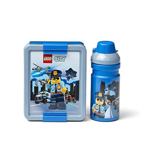 Room Copenhagen Lego City Mittagspausen-Set, Blau, one Size