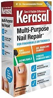 Kerasal Multi-Purpose Nail Repair 13ml, Nail Treatment Improves The Appearance of Damaged or Aging Nails. Packaging May Vary