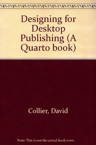 Designing for Desktop Publishing (A Quarto book)