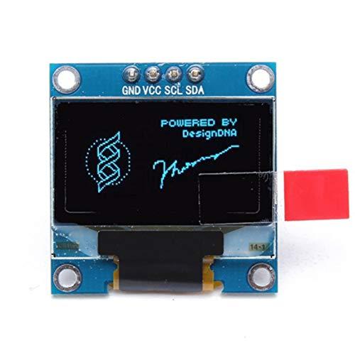 Vounivi 0.96 pouces I2c IIC série OLED LCD LED Module 128X64 pour Arduino affichage framboise PI 51 Msp420 Stim32 SCR