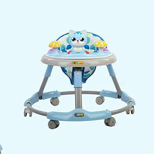 Raelf Las piernas pueden sentarse en plegable Niño Bicicletas O en forma de, aprender a conducir, Niños, bebés y niñas, andadores, andadores, 6/7 a 18 meses, la rueda Seternal, dispositivo de protecci