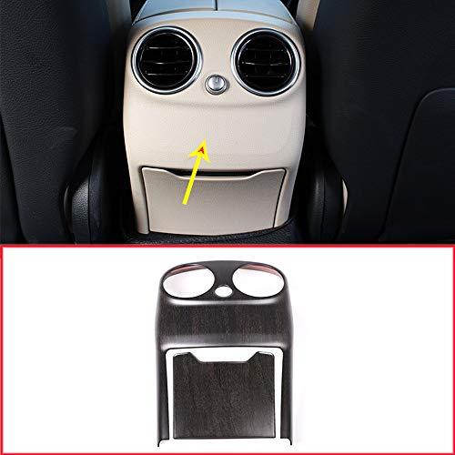 Accessoires de voiture ABS pour grille d'aération arrière pour Benz Classe C W205 Classe C 2015–2018 (bois de frêne)