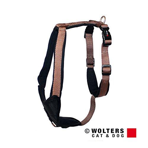 Wolters | Geschirr Professional Comfort in Tabac/Schwarz | Brustumfang 50 - 60 cm