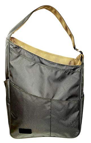 Maggie Mather Shoulder Bag (Pewter/Khaki)