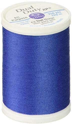 Coats: Thread & Zippers S910-4160 Dual Duty XP General Purpose Thread, 250-Yard, Crayon Blue