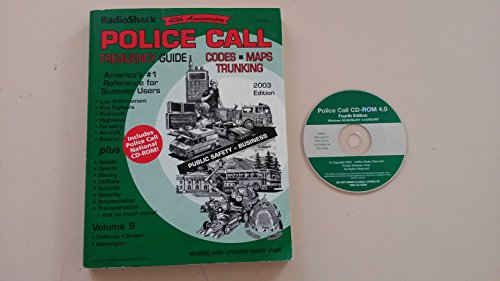 RadioShack Police Call Frequency Guide (America's #1 Reference for Scanner Users, Volume 9)