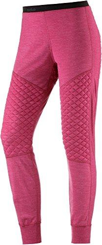 Odlo Chaud de Révolution TW x Pantalon pour Femme Medium Sangria Melange