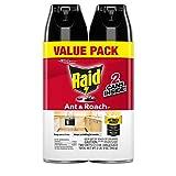 Raid Ant & Roach Killer 26, Fragrance Free, 17.5 oz (2 ct)